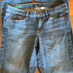 J Crew boot cut jeans